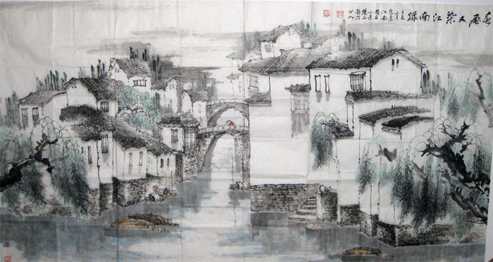 创办安徽九华山中国画研究院及《九华书画报》,多次率团赴国内十余省